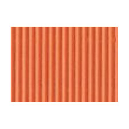 Carton ondulé 50x70cm orange