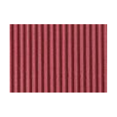 Carton ondulé 50x70cm bordeaux