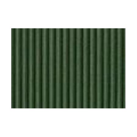 Carton ondulé 50x70cm vert sapin