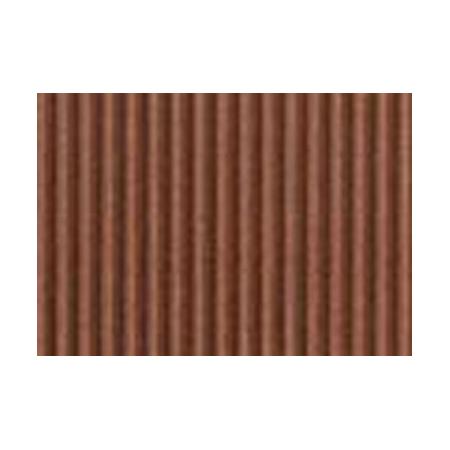 Carton ondulé 50x70cm sépia