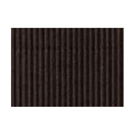 Carton ondulé 50x70cm,rouleau,noir