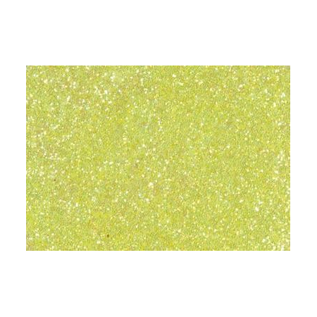 Colle pailletée 50ml jaune fluo