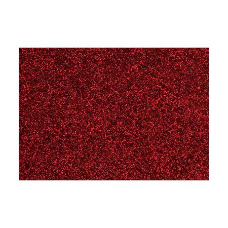 Film à repasser glitter 9x16 rouge