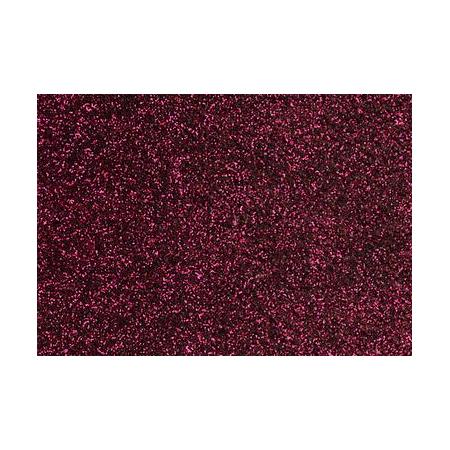 Film à repasser glitter 9x16 bordeaux
