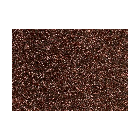 Film à repasser glitter 9x16 brun foncé