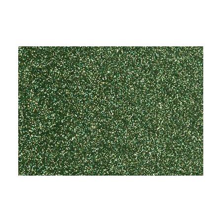 Film à repasser glitter 9x16 vert tilleul