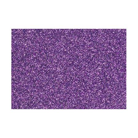 Film à repasser glitter 9x16 lavande