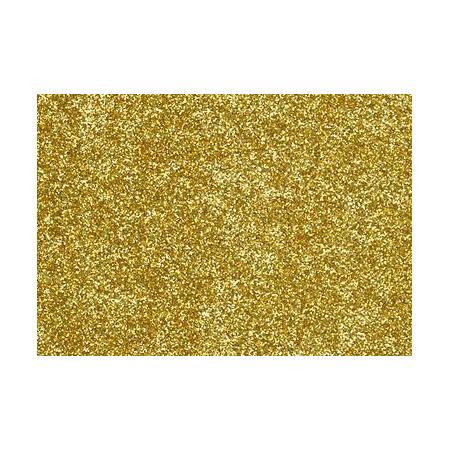 Film à repasser glitter 9x16 or