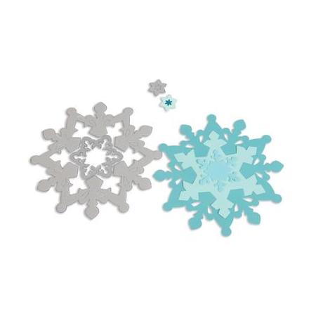 Framelits Die Set 3PK - Snowfl