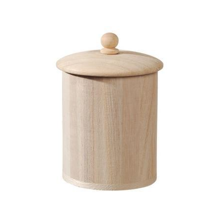 Boîte bois rd/couv.8,8x8,5