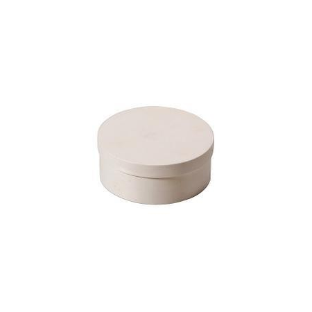 Boite en copeaux ronde en peuplier d:5x2,5cm