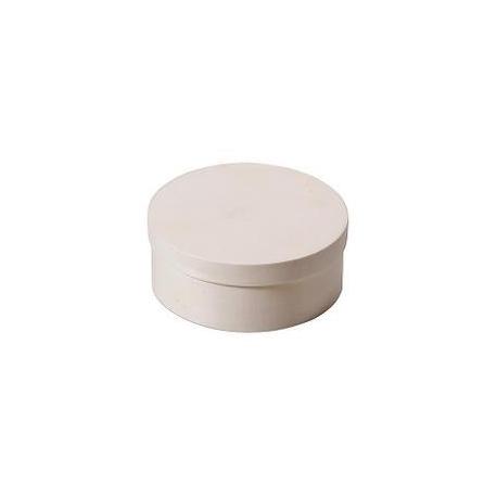 Boite en copeaux ronde en peuplier d:6x3cm