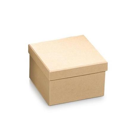 FSC Boîte carton carré10x6,5cm