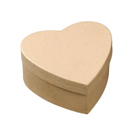 FSC Boîte de coeur 11x11,5x5,5