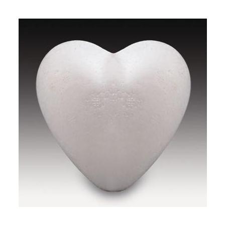 Coeur en polystyrène 9cm