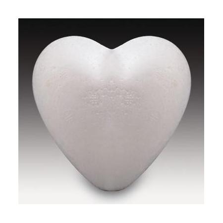 Coeur en polystyrène 12cm