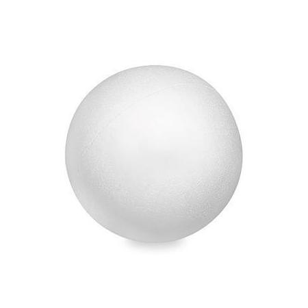 Boule en polystyrène 10cm