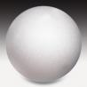 Boule en polystyrène 12cm