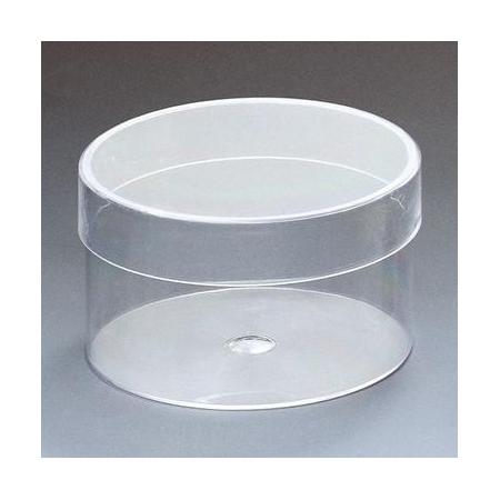 Boîte acrylique rond