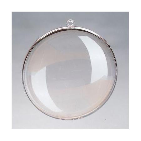 Médaillon divisible en plastique 11cm