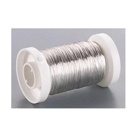 Fil métallique 0,25mm argent 50m