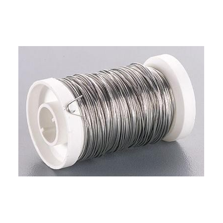 Fil métallique 0,25mm argent 150m