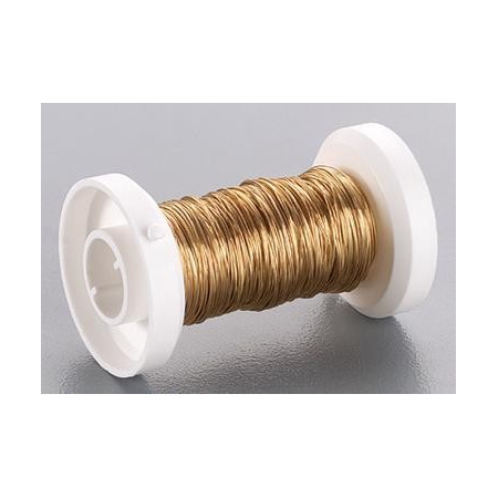 Fil métallique 0,25mm or 35m