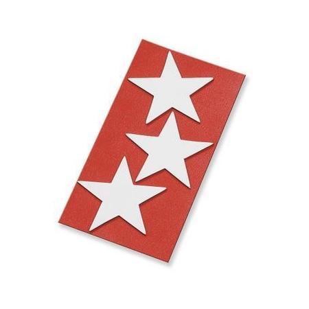 Sticker magnétique étoiles 5cm