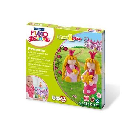 FIMO kids kit form & play, princesse
