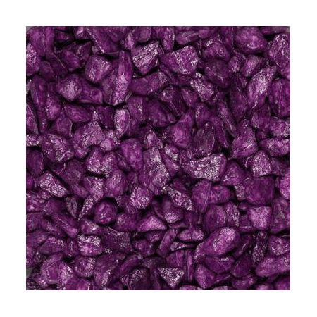Pierres décoratives 9-13mm 500ml aubergine