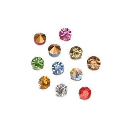 Pierres de strass melange2,3-2,4mm