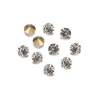 Pierres de strass 2,3-2,4mm crystal