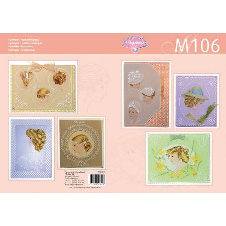 Livre motif M106 Dame élégante