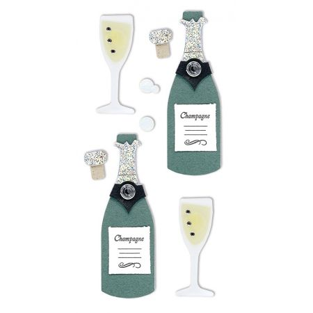 Sticker Champagne