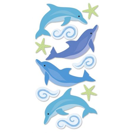 Sticker Mix Dauphins