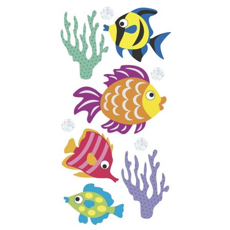 Sticker Poissons
