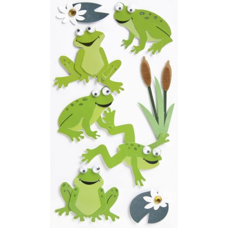 Sticker Grenouilles 2