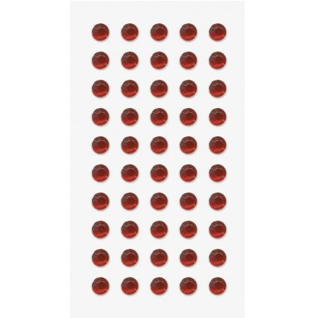 Sticker strass Cercle rouge