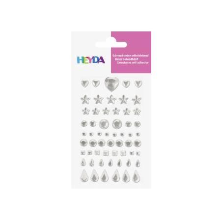 Sticker Strass cristal 58pc