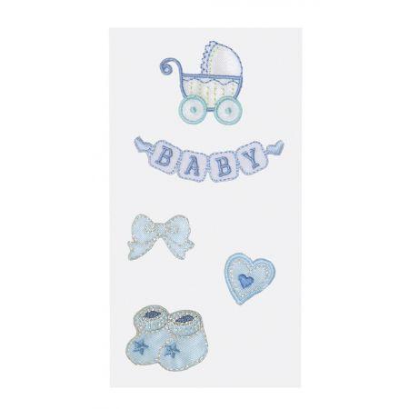 Sticker textile bébé garçon1