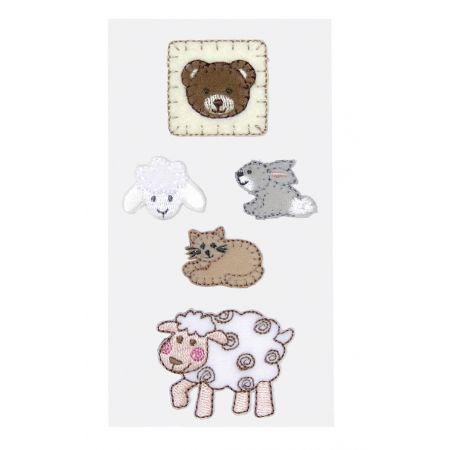 Sticker textile Bébés Animaux