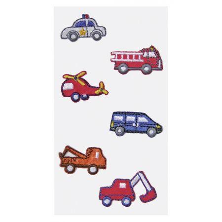 Sticker textile Voitures
