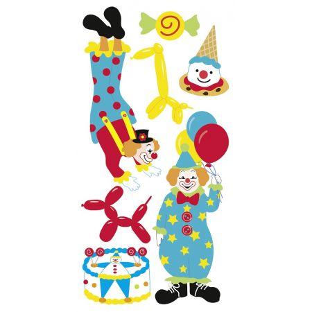Sticker Clowns