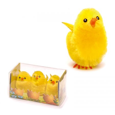Set poussins 3pcs 5cm