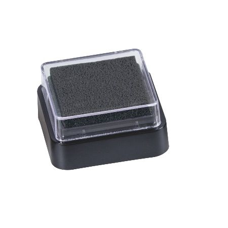 Mini coussin encreur 3x3cm noir