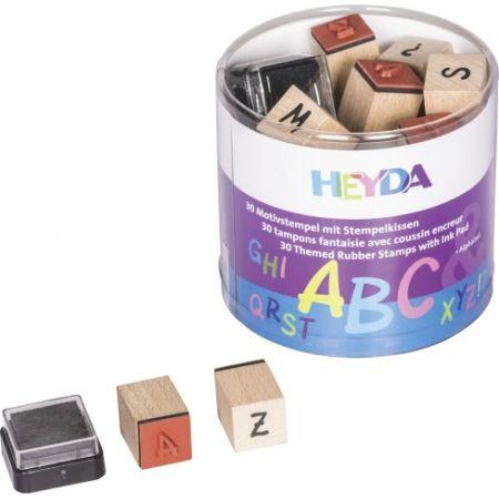 Set tampons alphabet 30 pces