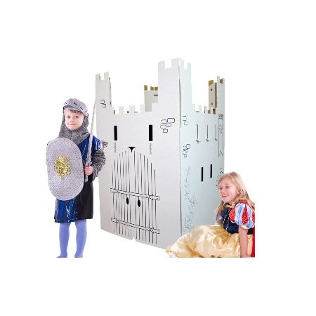 Chateau fort en carton géant