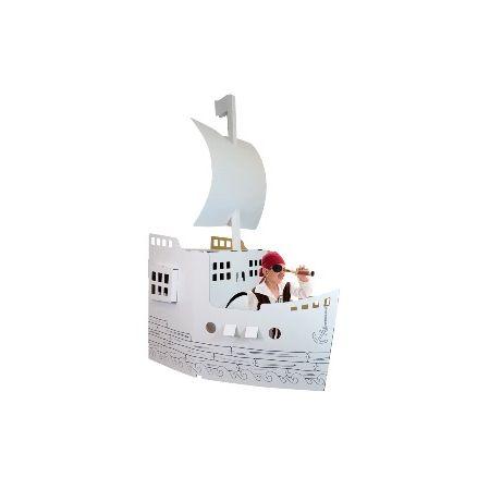 Bateau de Pirates en cartons géant