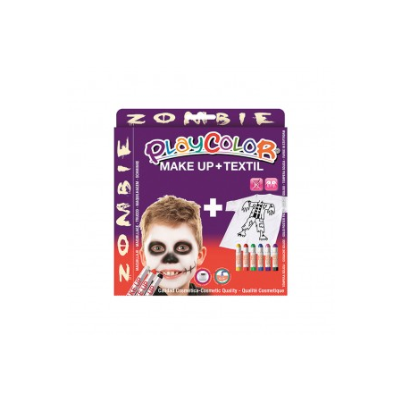 Playcolor pack make up pocket+textiel one zombie (kit)