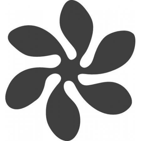Perforatrice levier motif Fleur3